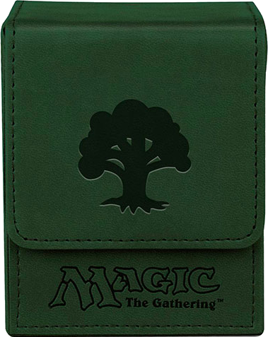Ultra PRO Deck Box Flip - Magic Mana - Mat Green