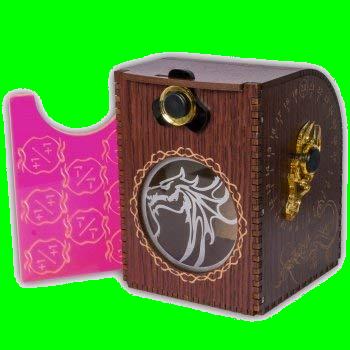 Wooden Deck Case - Dragon