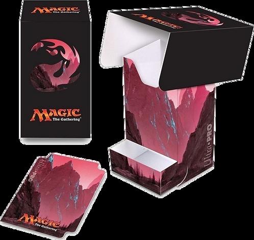 Ultra Pro: Full View Deck Box with Tray: Magic Mana 5- Mountain