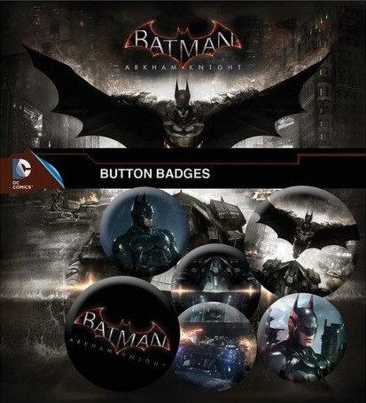 BATMAN ARKHAM KNIGHT PINS