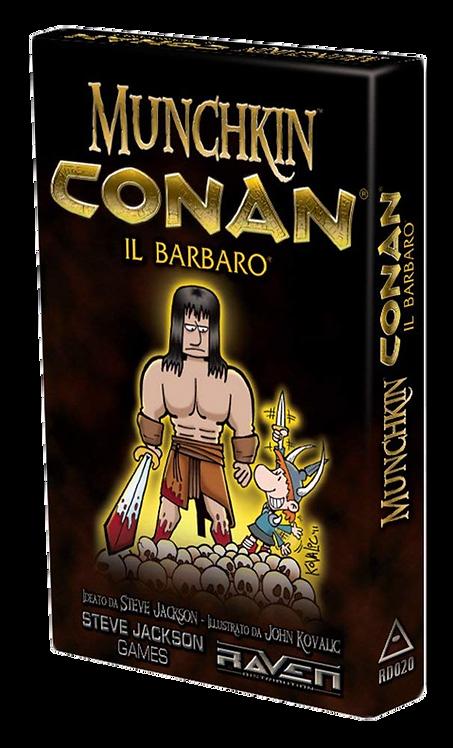 Munchkin CONAN Esp :Conan il Barbaro