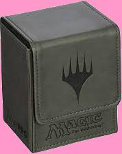 Ultra PRO Deck Box Flip - Magic Mana - Mat Grey