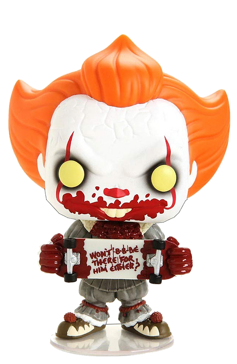 Pop! Movies: IT Chapter 2 - Pennywise with Skateboard Special ED