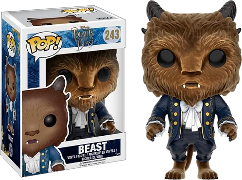 Funko! POP! Disney Beauty and The Beast Live Action 243 - Beast Flocked