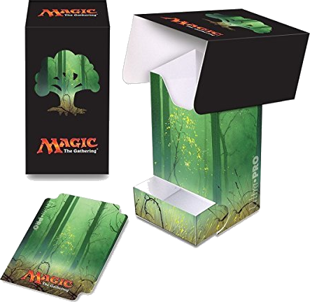 Ultra Pro: Full View Deck Box with Tray: Magic Mana 5- Forest