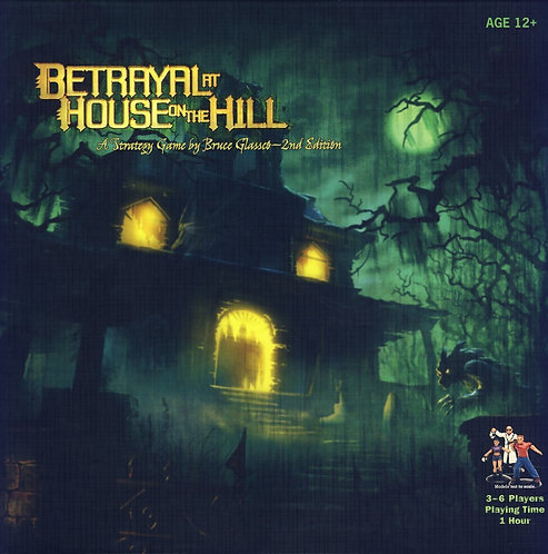 BETRAYAL at HOUSE on the HILL 2nd Edition - EN