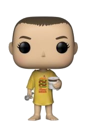 POP! TELEVISION: STRANGER THINGS ELEVEN IN BURGER TEE -718
