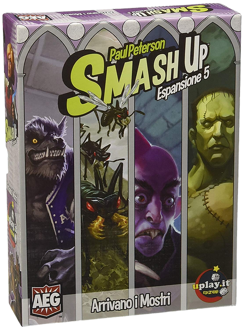 Smash Up: ESP Arrivano i Mostri