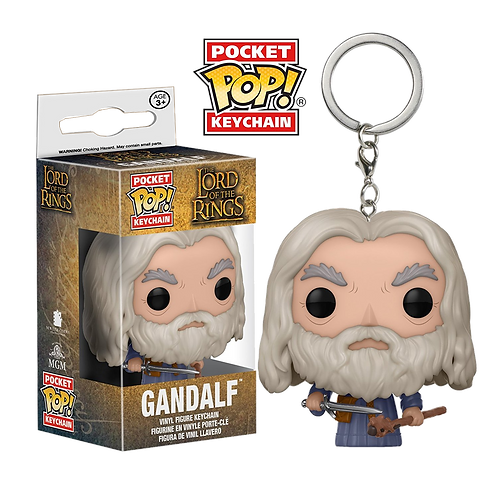 Funko POP! Keychain - LORD OF THE RINGS  - GANDALF