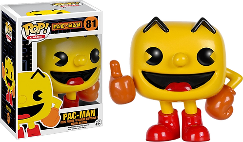 Funko POP! PAC-MAN 81 - PAC-MAN