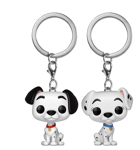Funko POP! Keychain: Dalmations 2PK - Pongo & Perdita