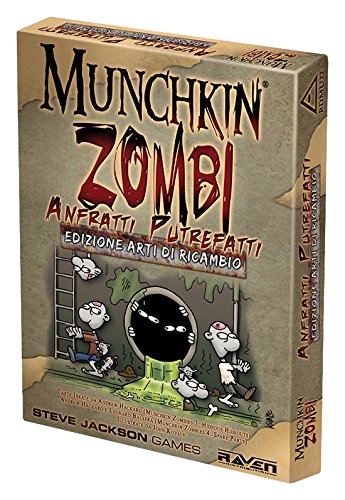 Munchkin Zombi - ESP Anfratti Putrefatti Ed. Arti di Ricambio