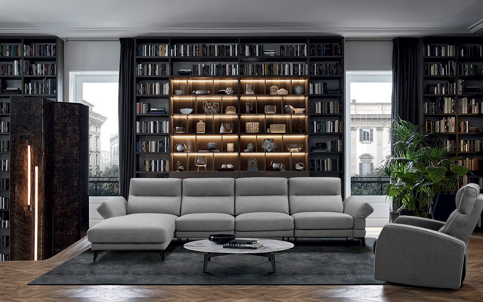 Sofa, L-Shape sofa, Real leather sofa
