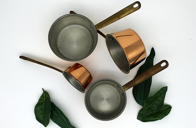 Copper Mini Pots