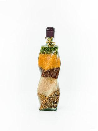 Home Kitchen Decorations Decor Glass Bottle