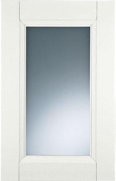 White   satinated glass