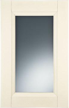 Ivory   satinated glass