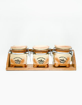 Sweet Home jar set kitchen
