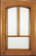 Clear walnut painted / Glass doors