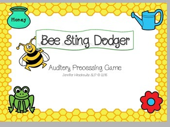 Bee Sting Dodger