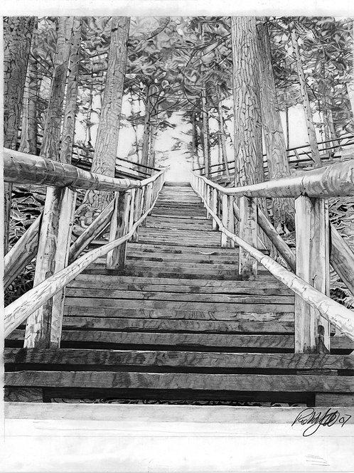 "ART PRINT | Jacob's Ladder | 12"" x 14"""