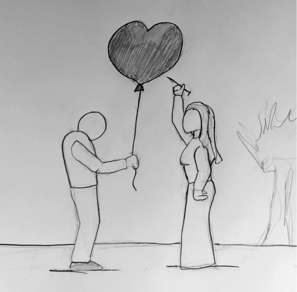 pencil sketch broken heart bubble.jpg