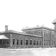 Old Train Station. Truro, Nova Scotia. A