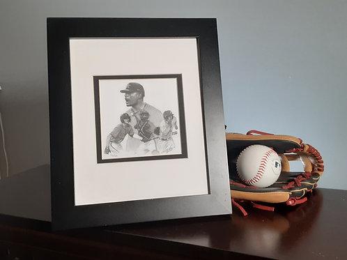 """FRAMED ART   Baseball America Cover Art   10"""" x 12"""" Framed Print"""