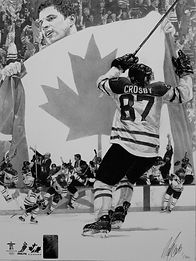 Sidney Crosby. Golden Goal 2010. Vancouv