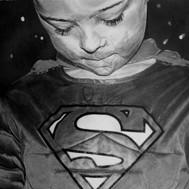 Turner Scott. My superman Art by Robb Sc