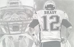 Tom Brady. New England Patriots. Sports