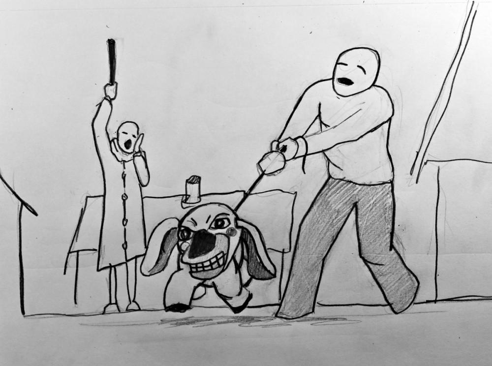 pencil sketch dog catcher.jpg