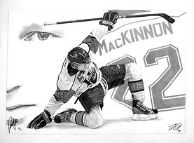 Nathan MacKinnon Sports memorabilia. Ori