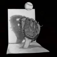 Baseball Glove 3D Art. By artist Robb Sc