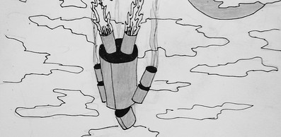 pencil sketch falling man.jpg