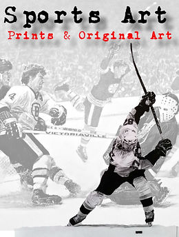 Sports Art Gallery. Sports drawings by R