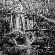 Waterfalls art. Pencil drawing. Prints_