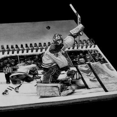 #D Hockey Art. Carey Price goalie. Montr