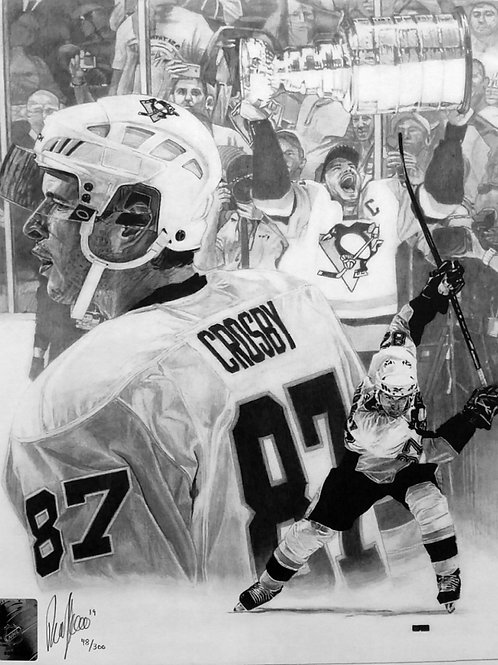 SPORTS PRINT | Sidney Crosby Penguins |