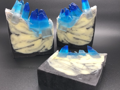 Soap Challenge Club: Geode Crystal Soap