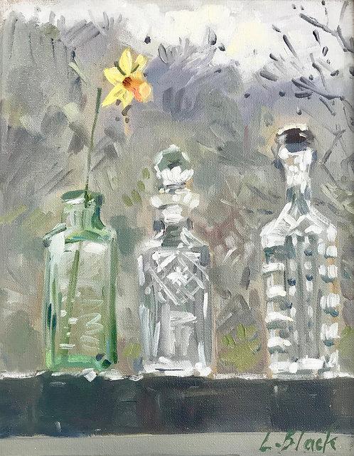 Daffodil in Bottle - £400