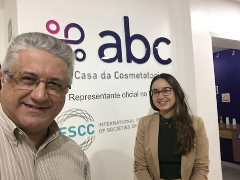 ABC Recebe Coordenadora de Projetos da Câmara Chinesa de Comércio