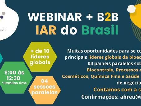 IAR do Brasil: Encontro de Negócios Digital e da Bioeconomia