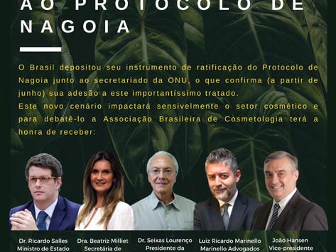 Webinar Impactos da Adesão do Brasil ao Protocolo de Nagoia