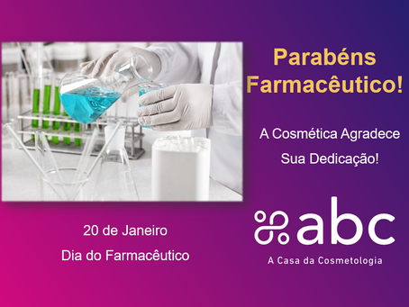 Parabéns Farmacêutico!