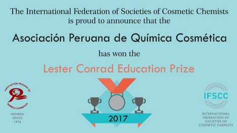 Premio Lester Conrad Education Prize 2017
