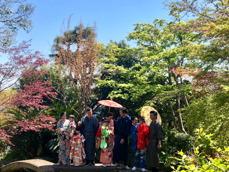 KIMONO styling for guests from Thailand