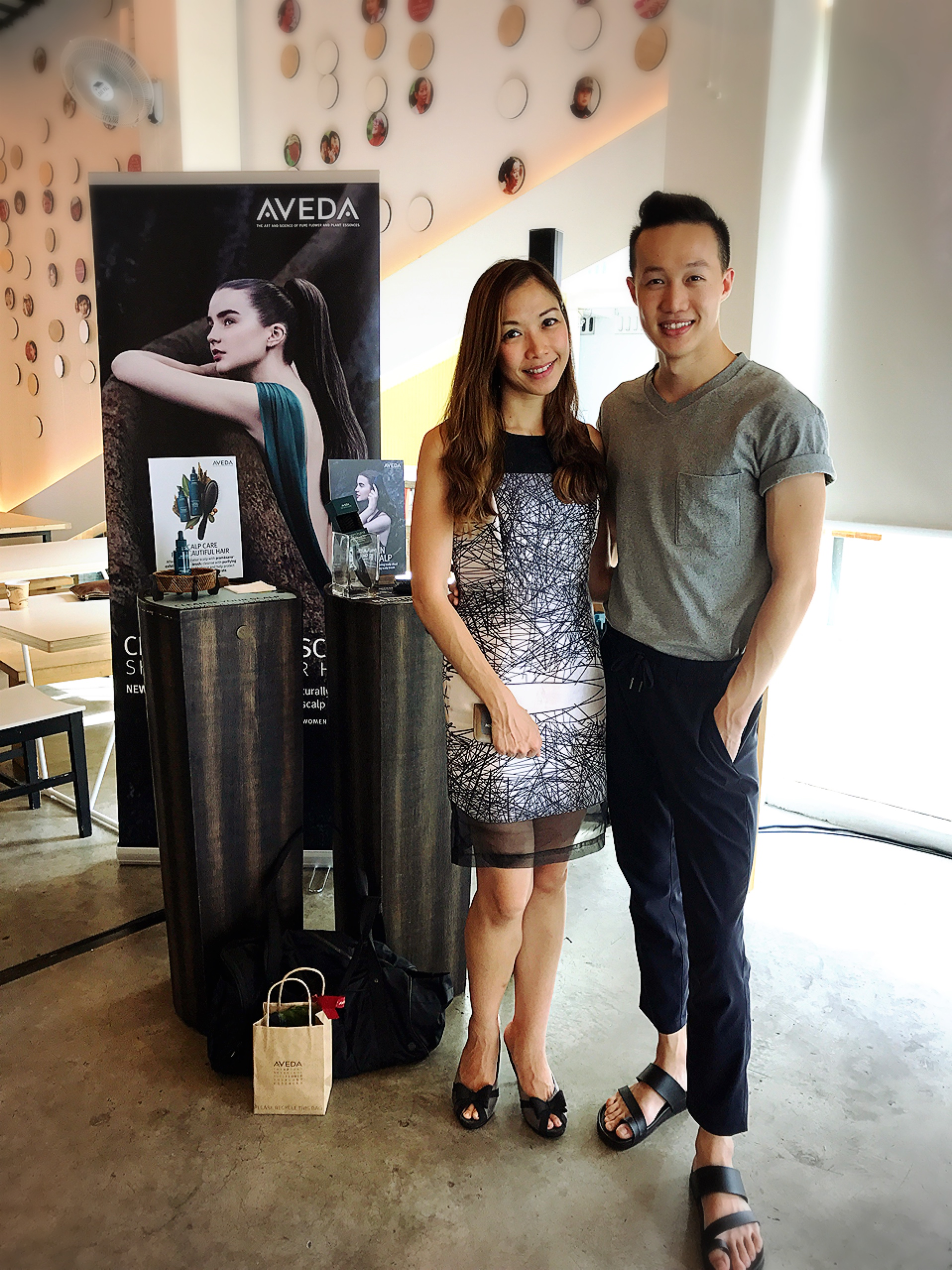 Aveda Pramasana launch