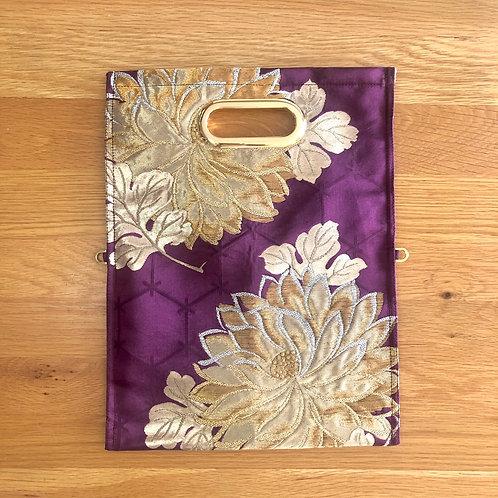 KIMONO Clutch Bag Violet
