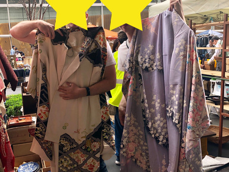 KIMONO styling for guests from Sweden